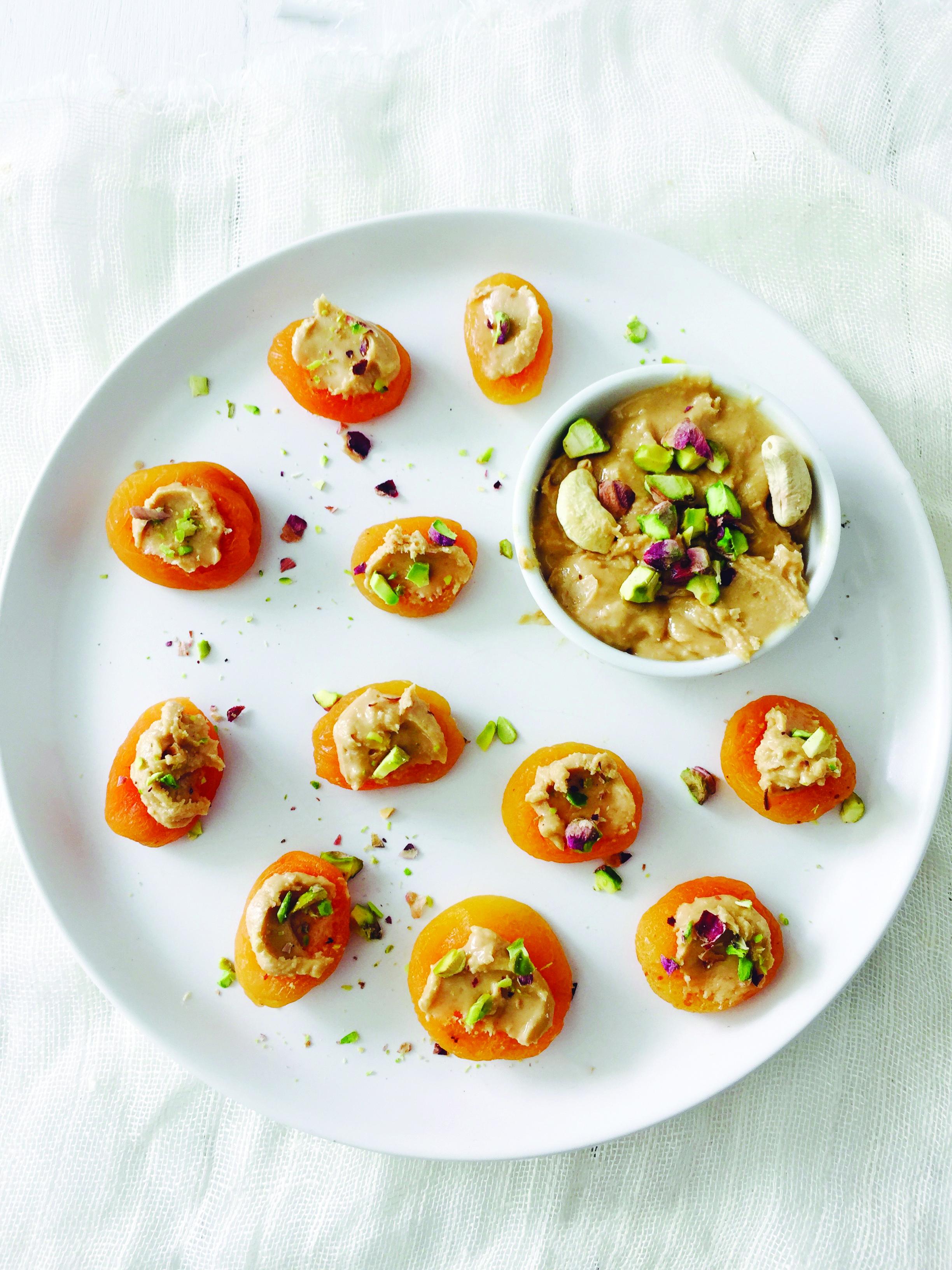 Stuffed dried apricots .jpg