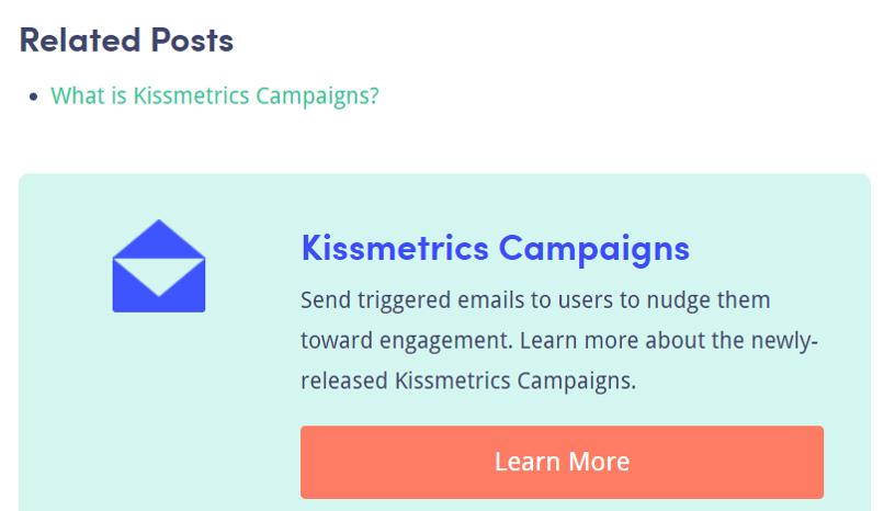 Kiss Metrics Blog CTA