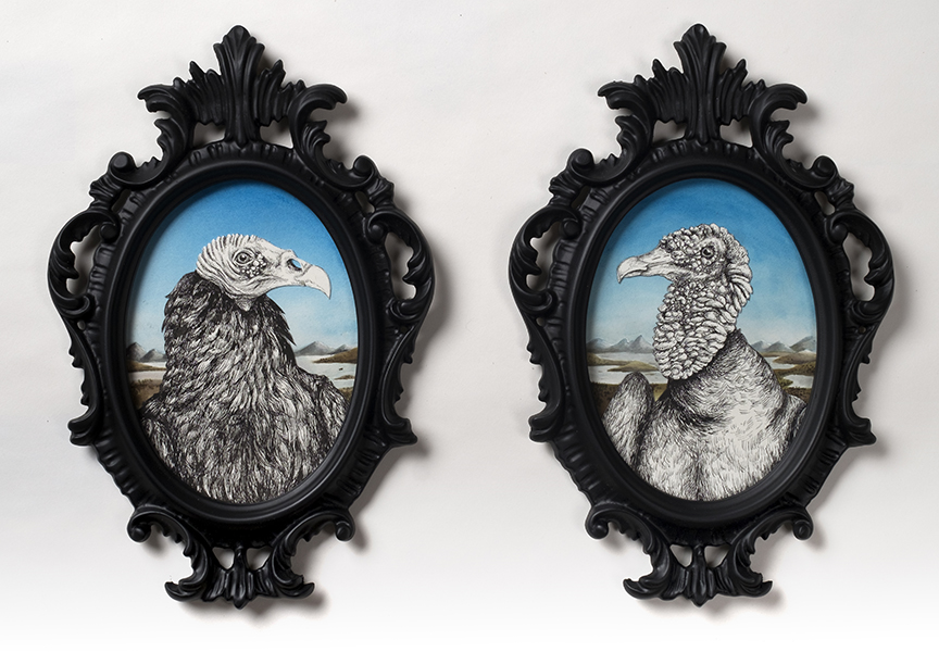 The Scavenger I (Turkey Vulture) and II (Black Vulture) sold