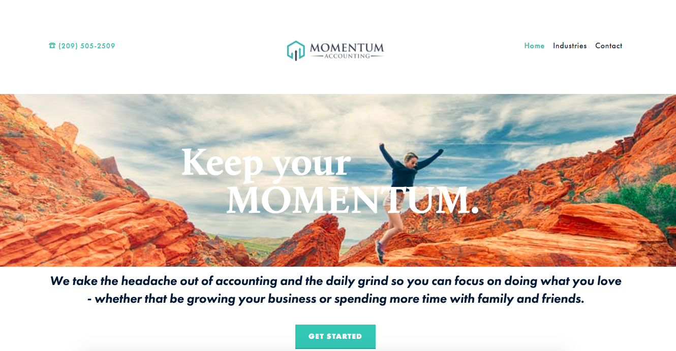 Momentum CPA Home Page