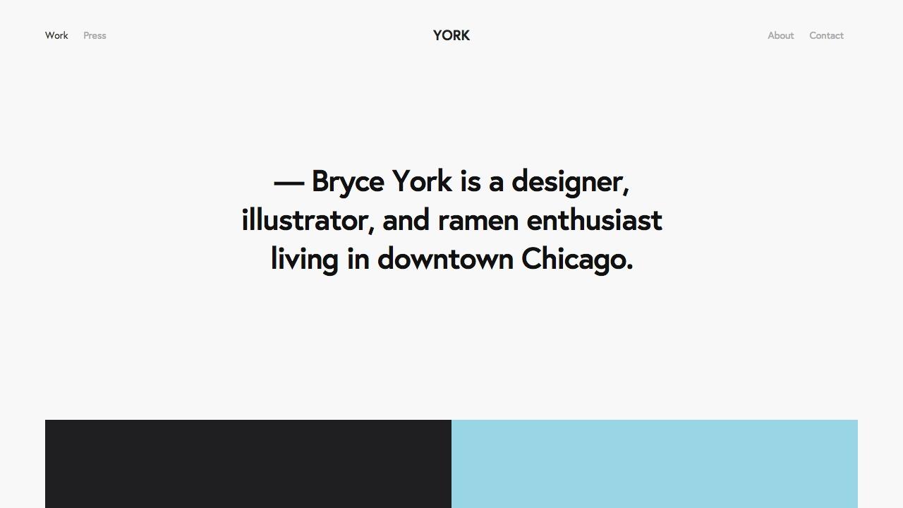 York Brad Good Squarespace Expert Website Designer