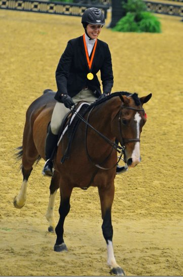 Sarah Milliren winner of the 2011 MACLAY FINALS