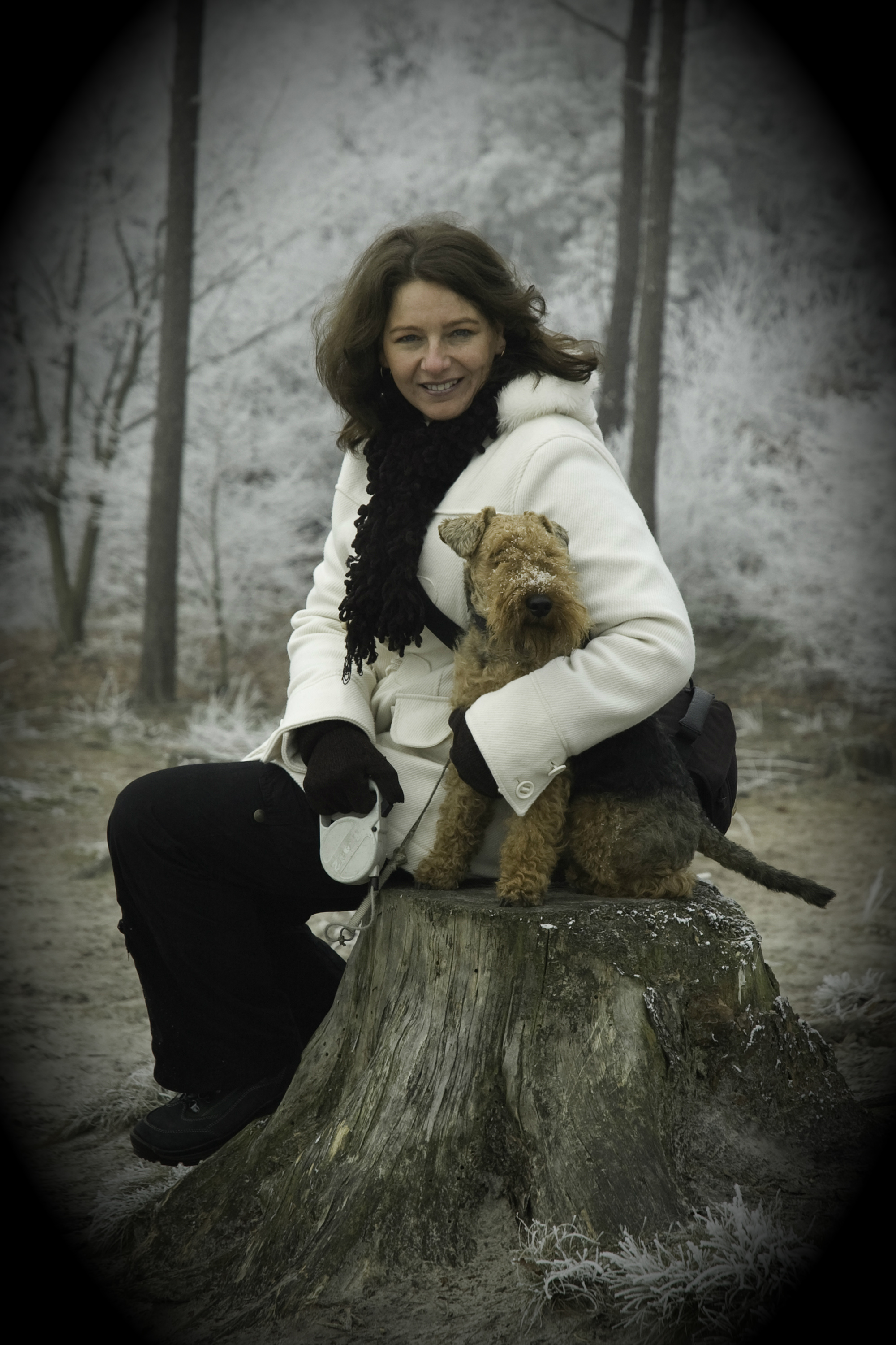 Nancy Lemay, Pet Haven owner & pet lover.  Nancy has devoted her life to pets and enjoys the personal attention required to make end of life plans meaningful for pets and their owners.