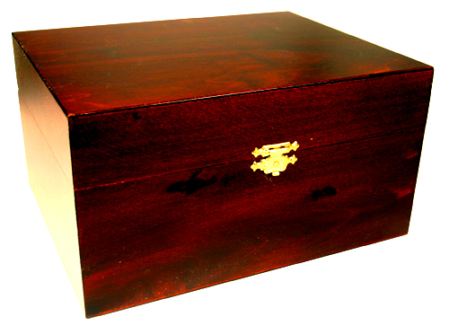 Polished Cedar-Box Urn - Included with Private Cremations