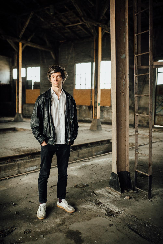 Portrait Schauspieler Jan Hallmann