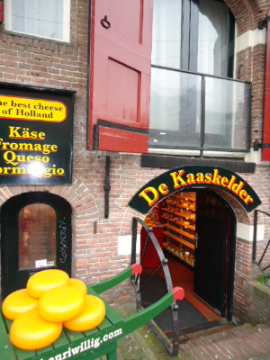 Cheese Shop in Amsterdam.