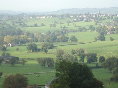 The rolling hills of Limburg, the Netherlands.