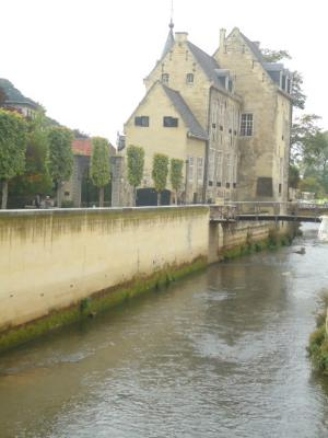 The beautiful town of Valkenburg.