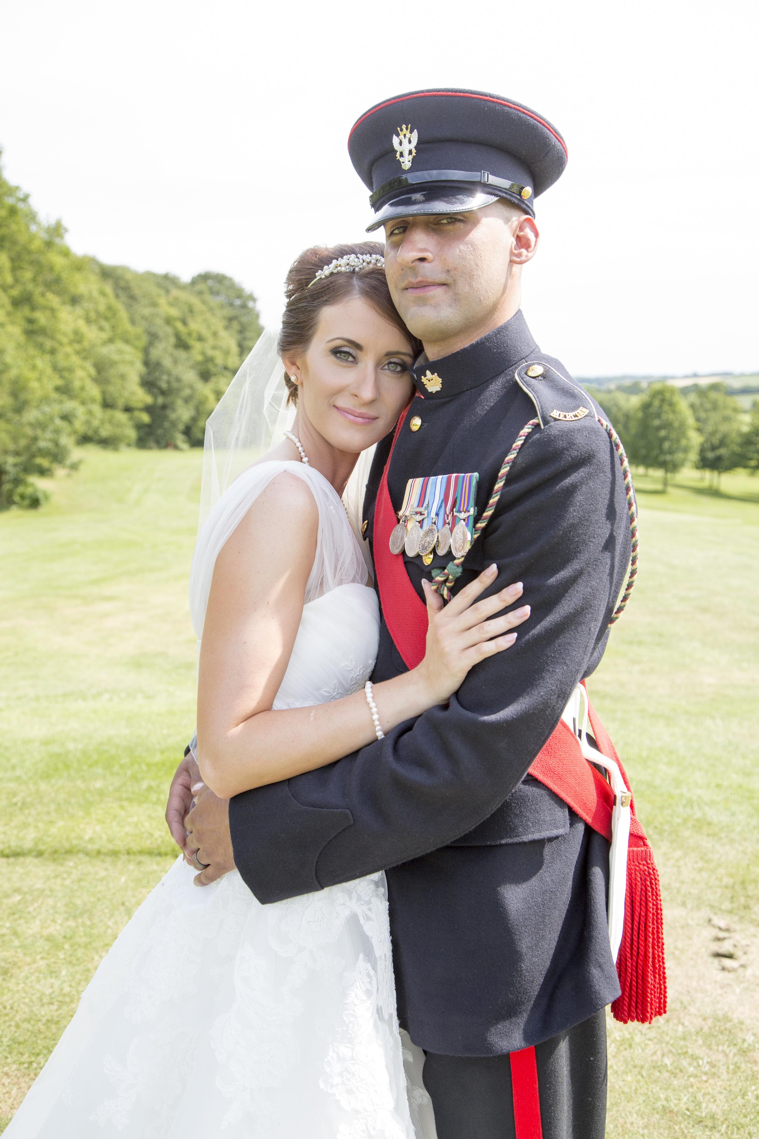 Army Wedding West Midlands