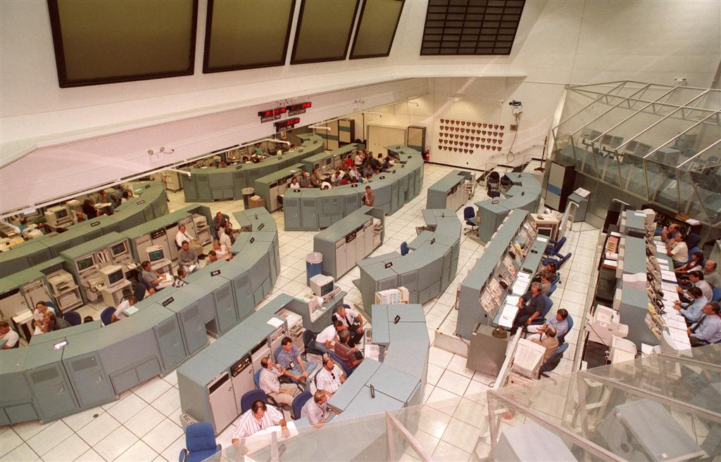NASA Kennedy Space Center Firing Room 1