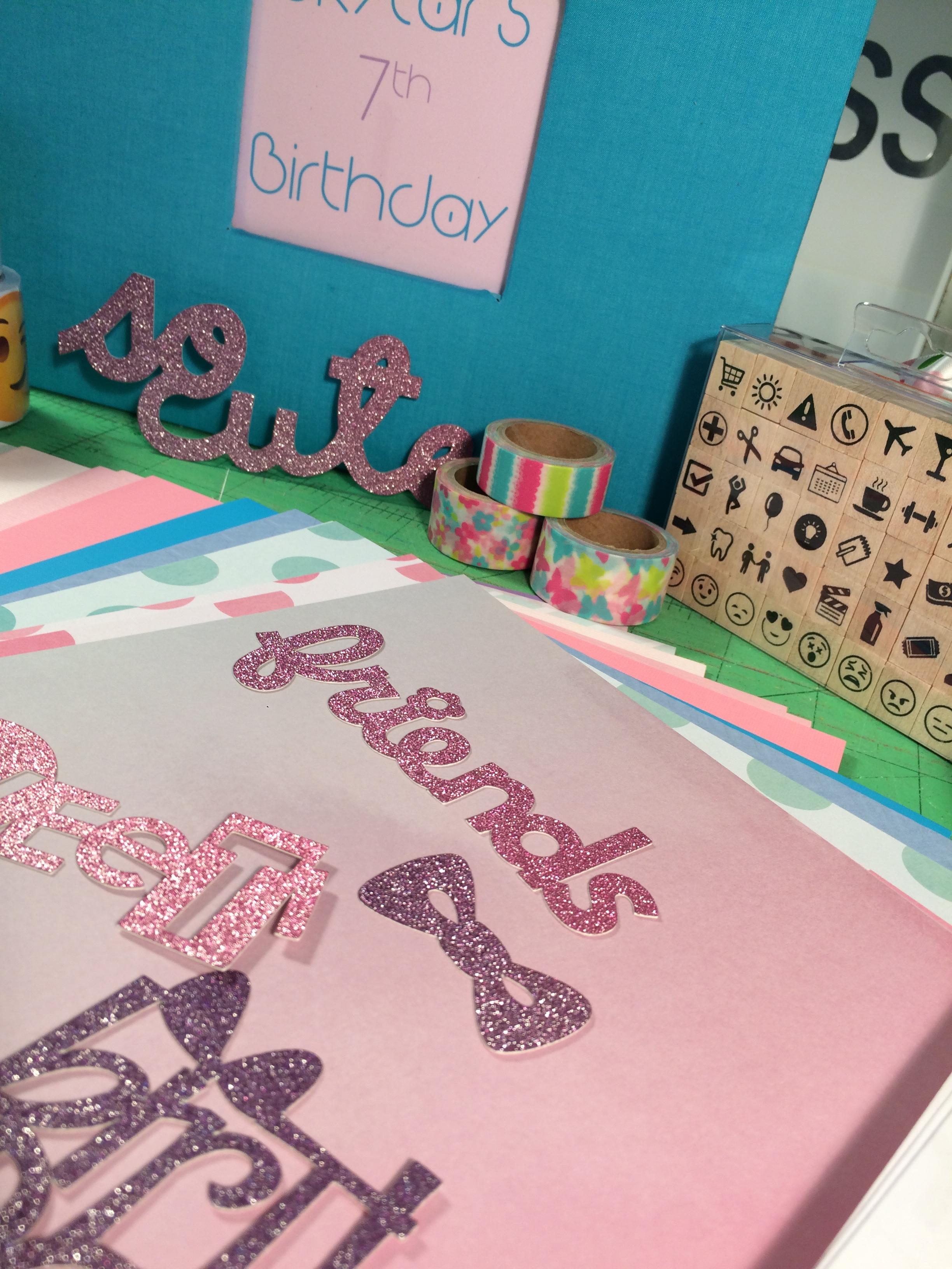 Slumber Party Scrapbook Activity Kit