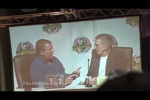 Leonard Nimoy and Willam Shatner