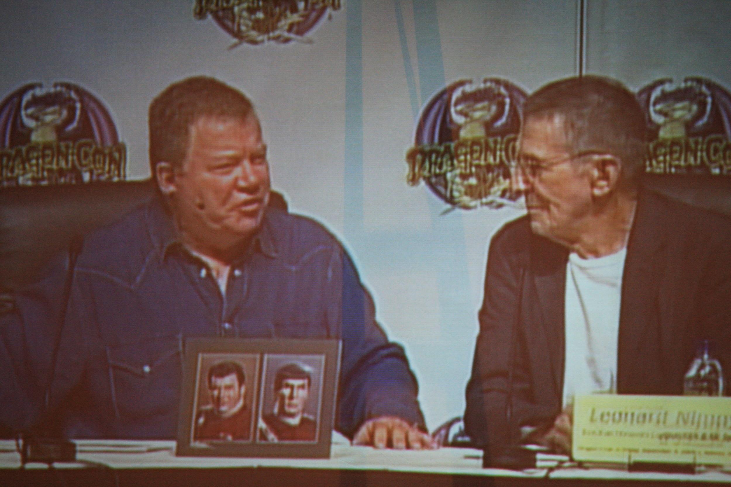 Nimoy and Shatner