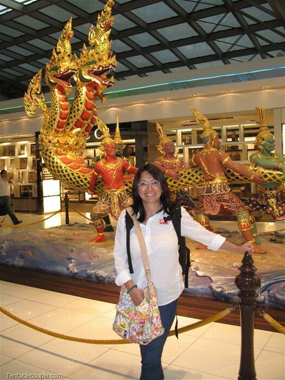Flying to Bangkok