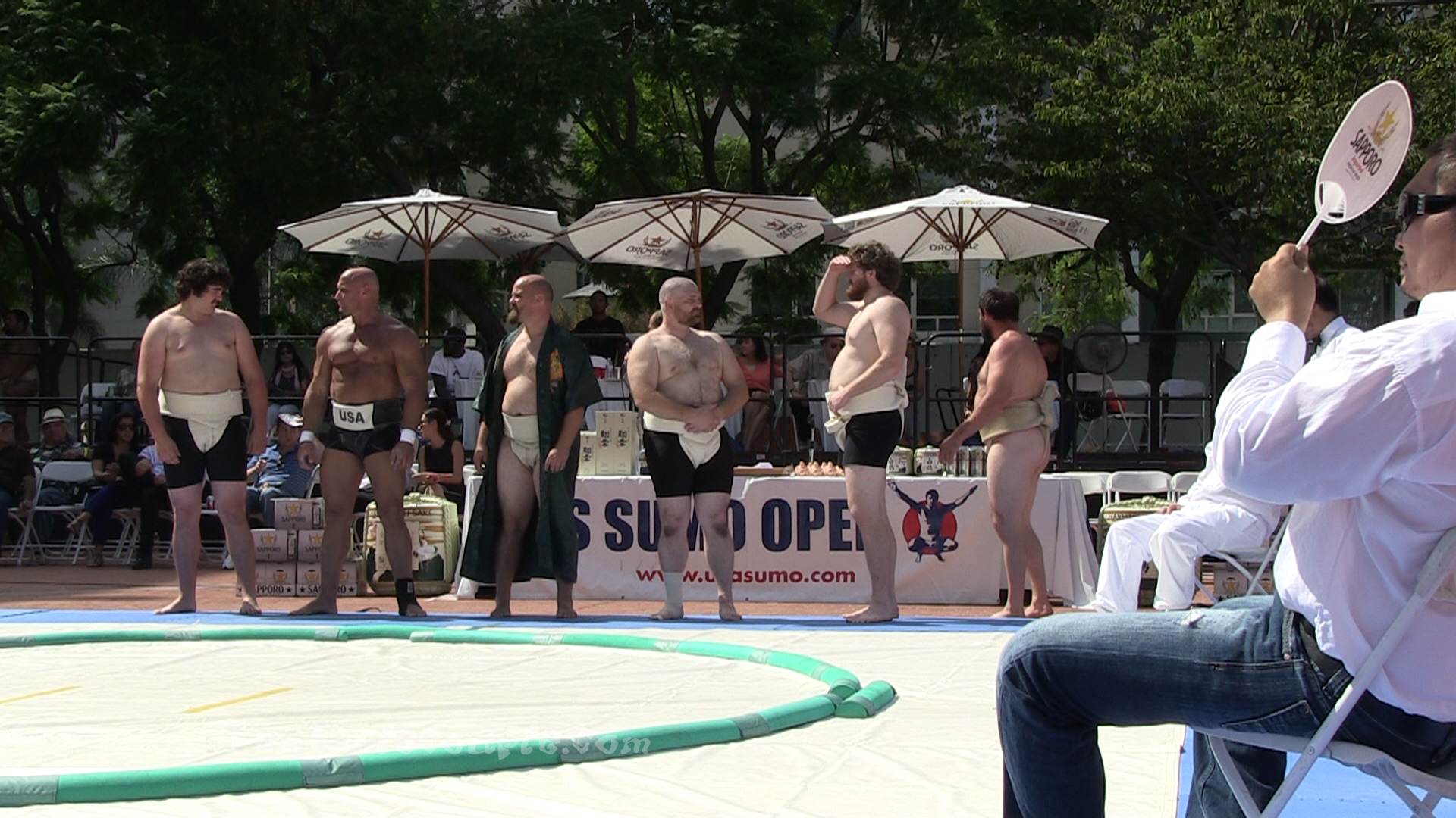 Middleweight Men Competition
