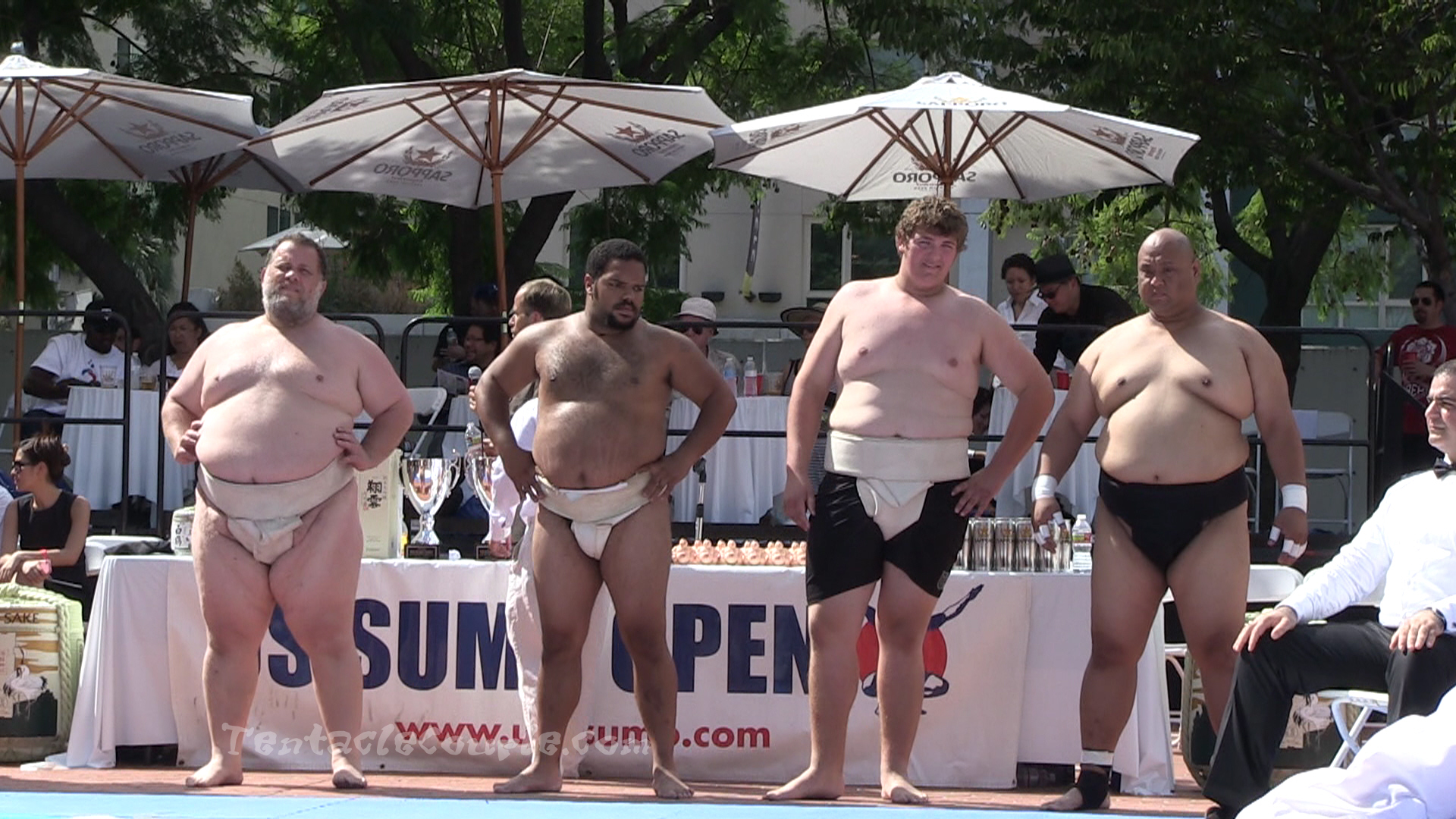 Heavyweight Men Competition