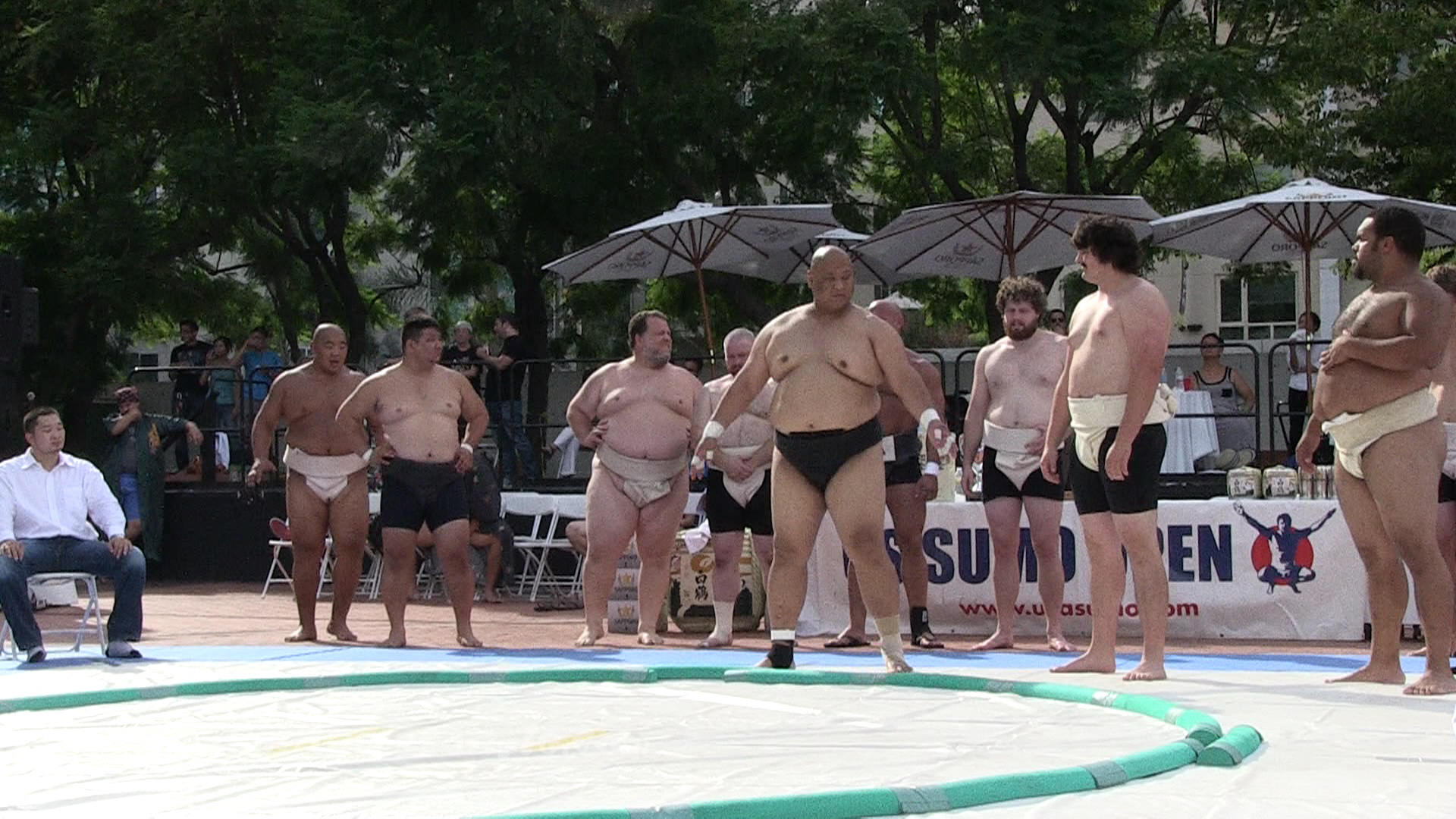 Open Weight Men Competition