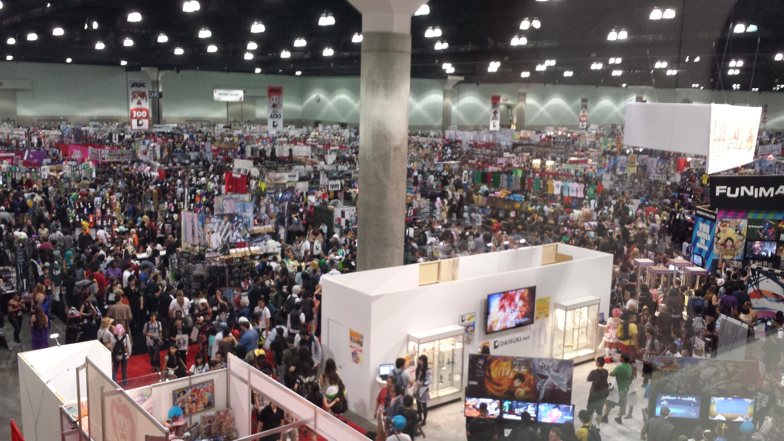 AnimeExpo 2013 - Exhibition Hall day 1