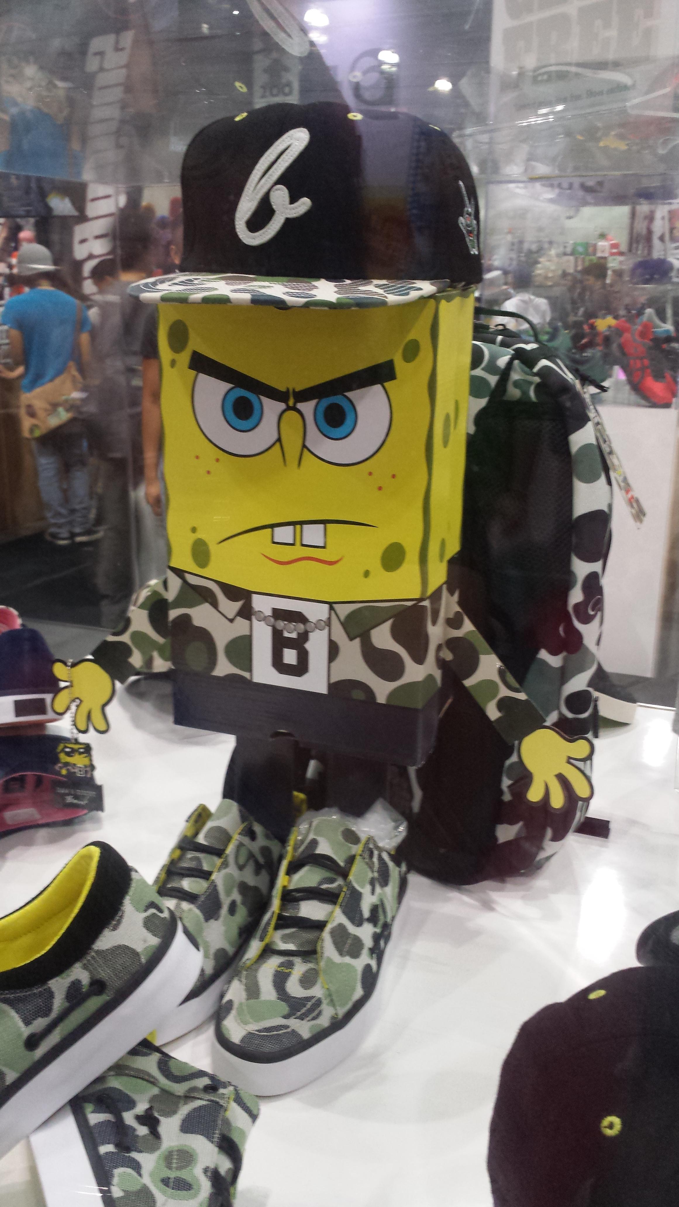 AnimeExpo 2013 - Sponge Bob Bad Ass
