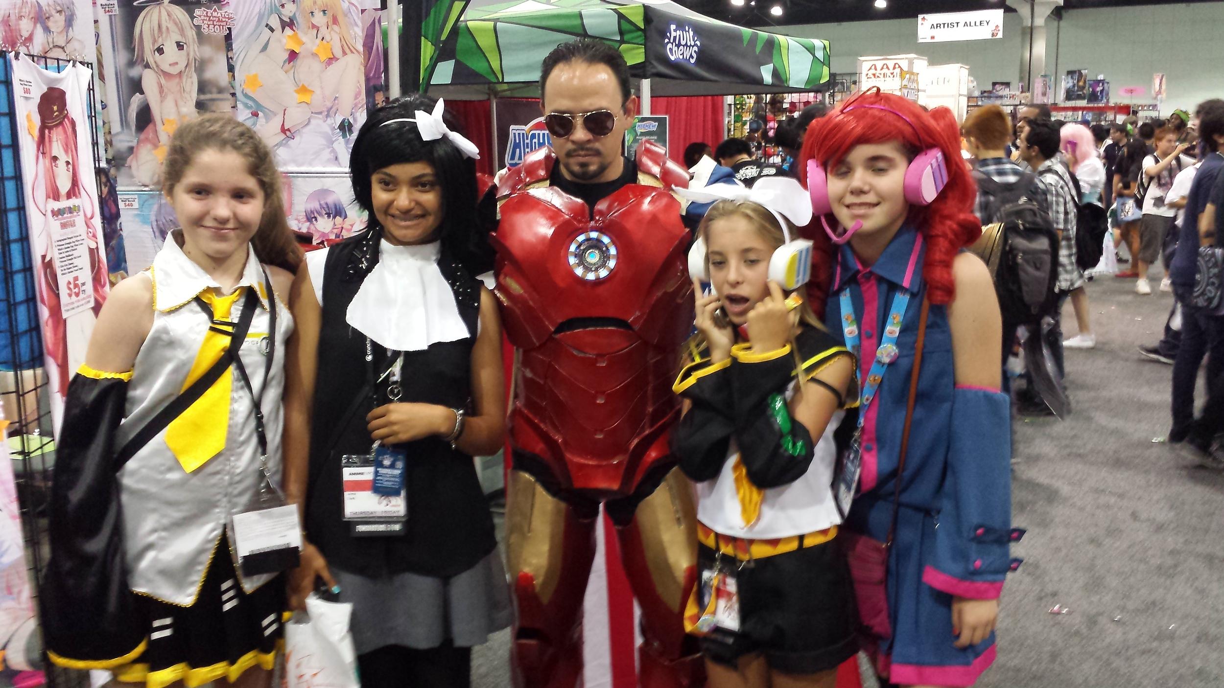 AnimeExpo 2013 - Iron Man