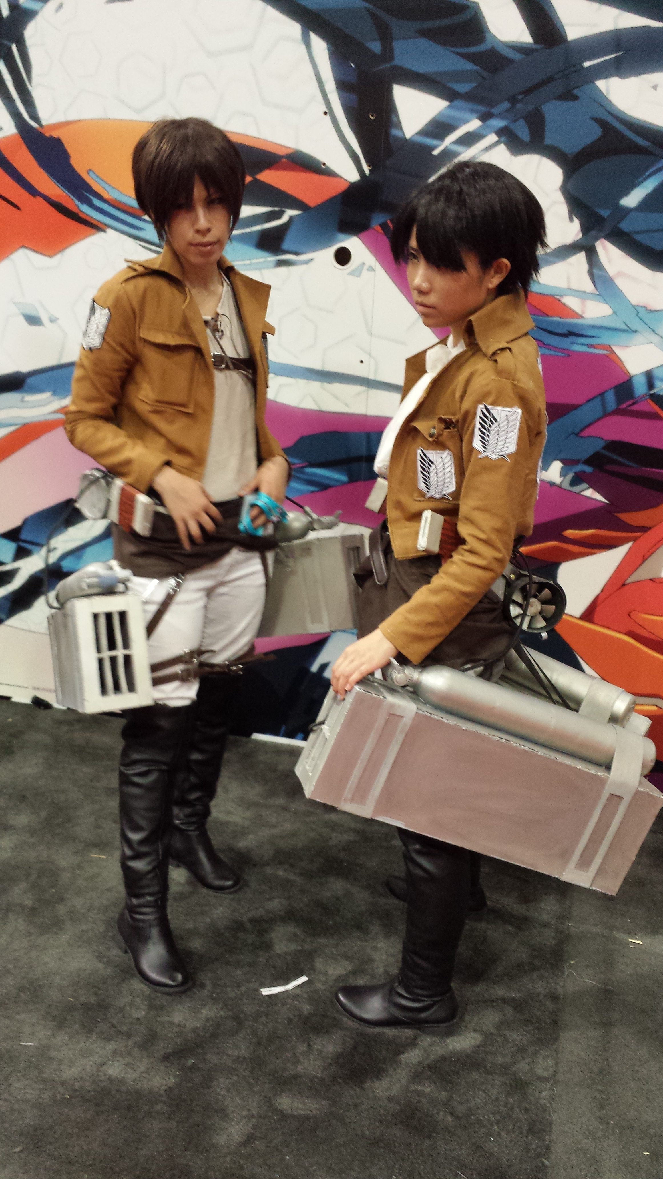 AnimeExpo 2013 - Keeping us safe from the Titans