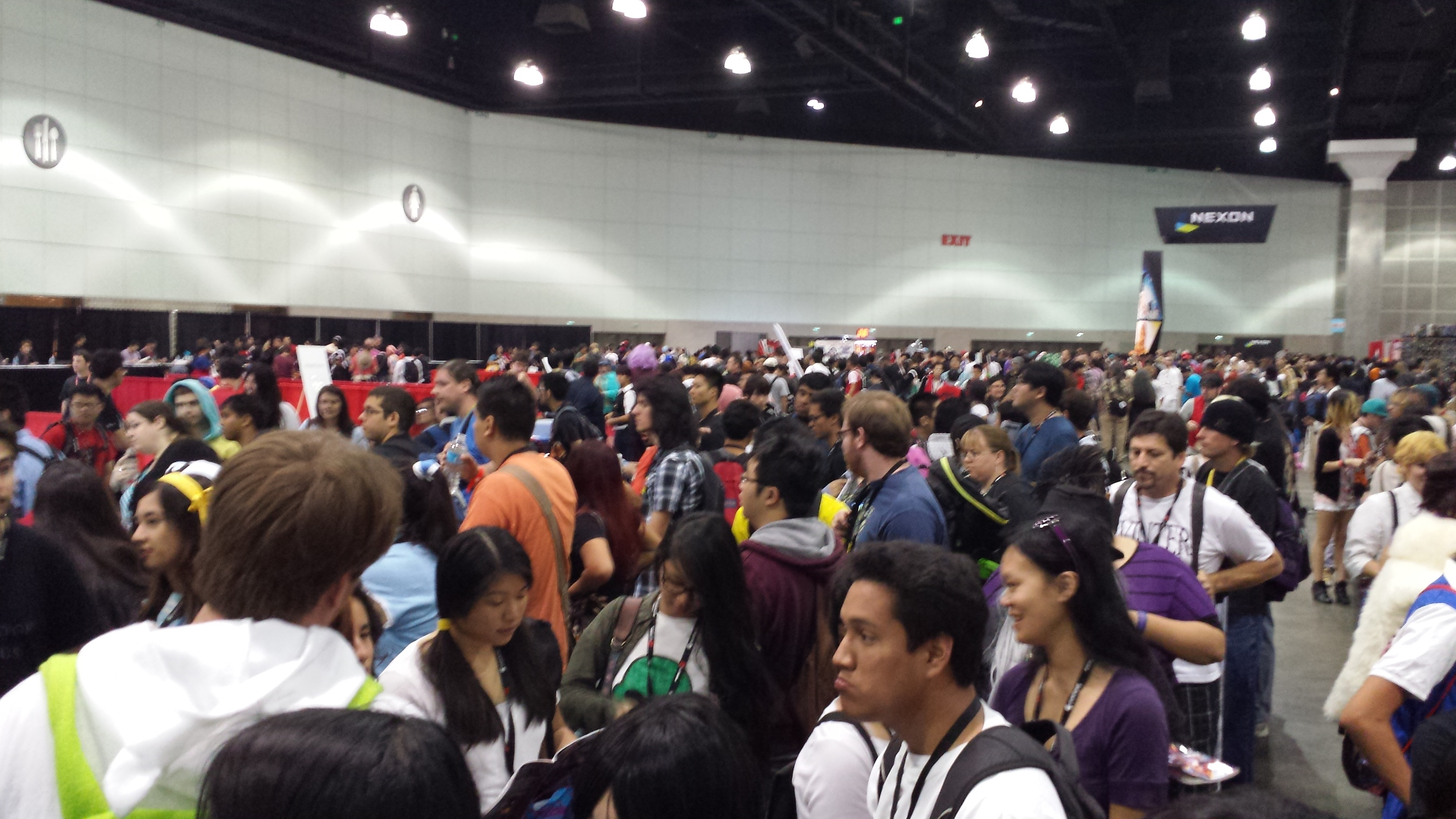 AnimeExpo 2013 - Insanity of the autograph line