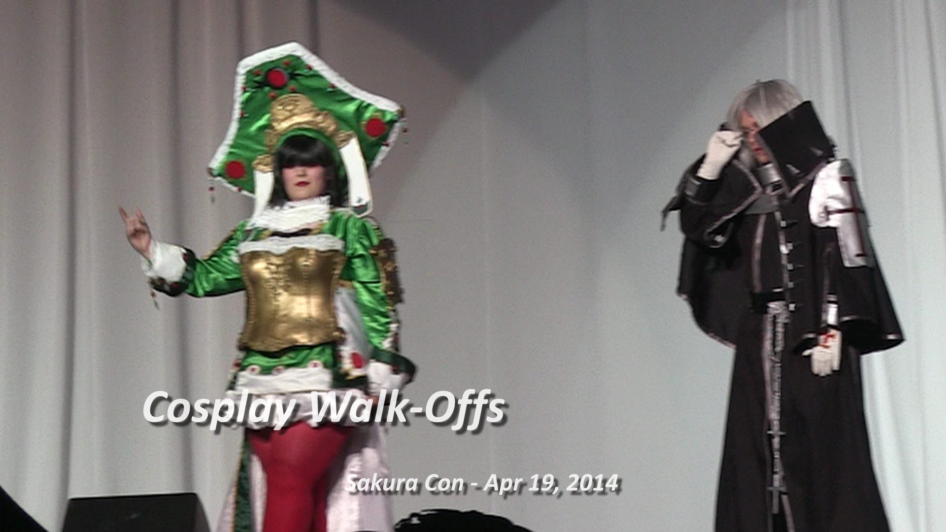 Cosplay Walk-Offs 1 to 10