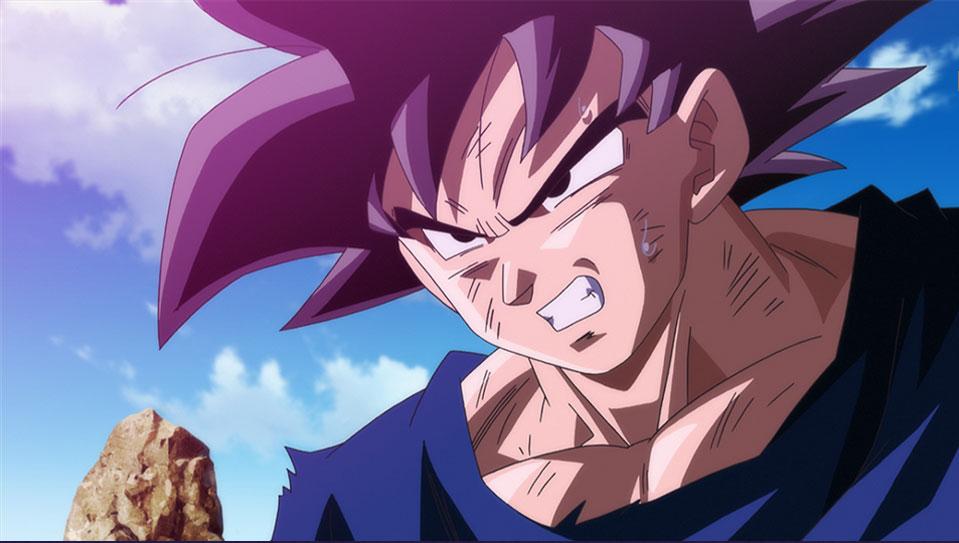 Goku Powering Up!