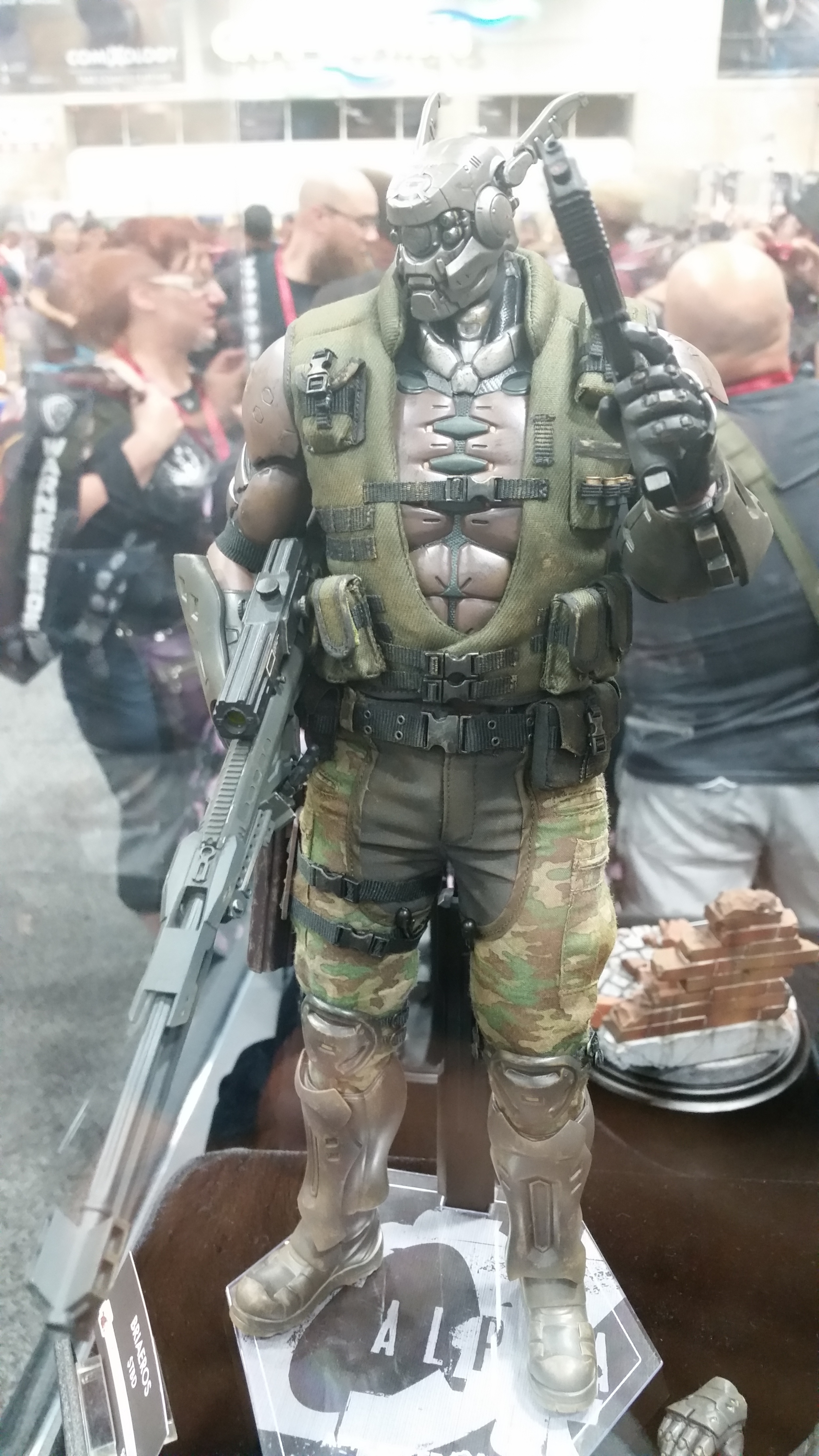 Briareus from Appleseed  Alpha
