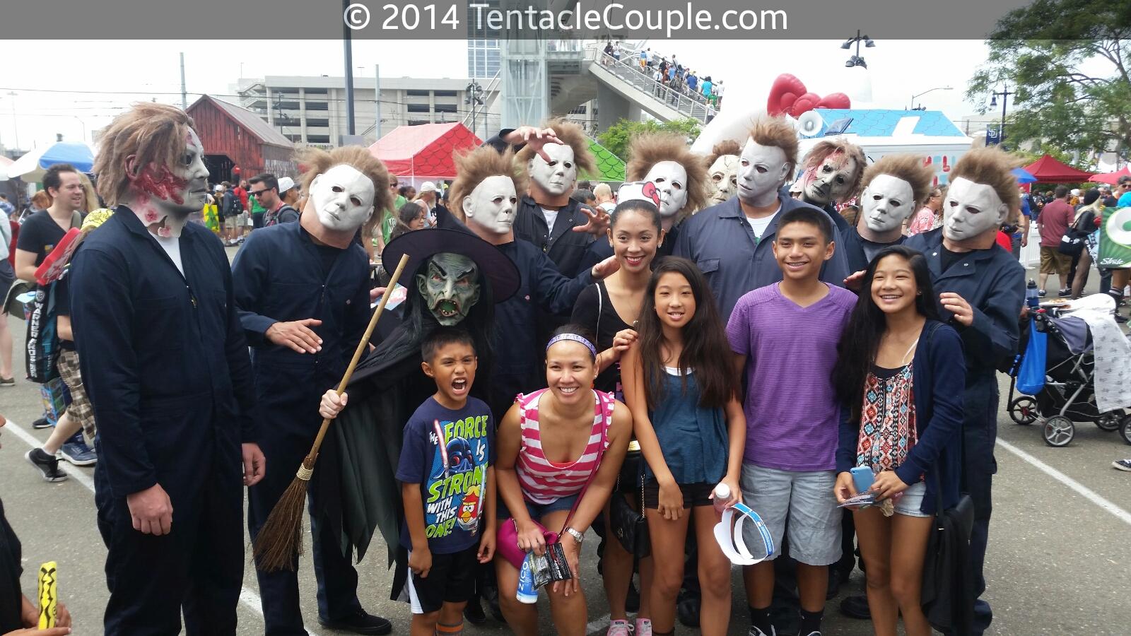 San Diego Comic Con, a safe, family friendly environment