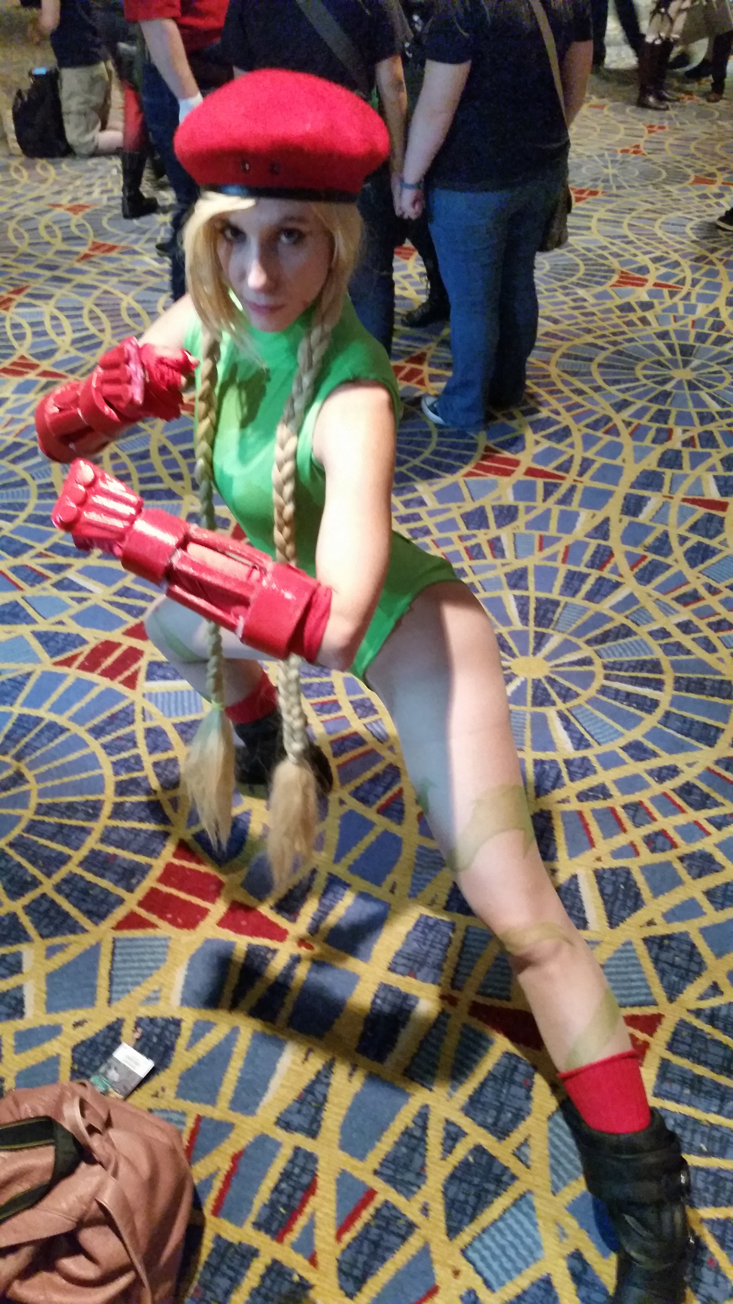 Cammy ready for combat