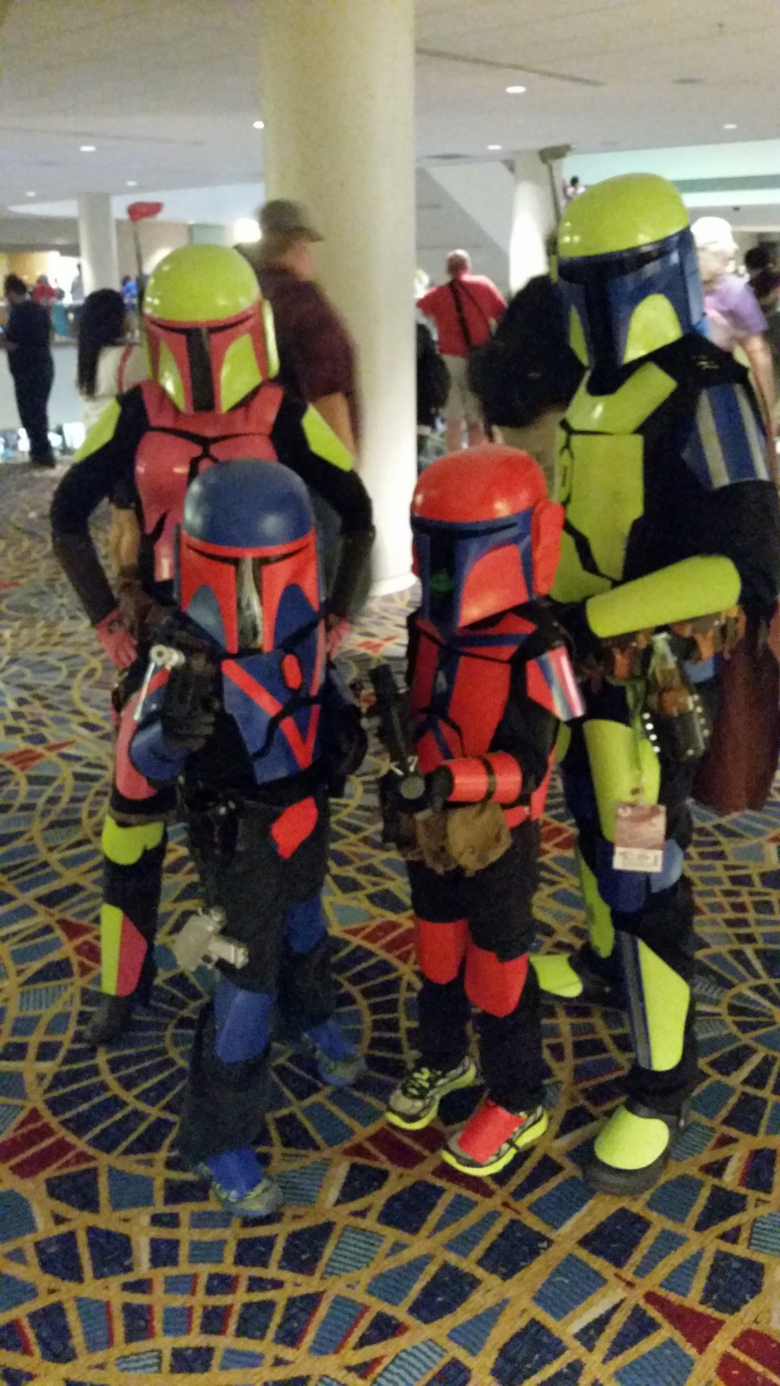 The family that cosplays together...