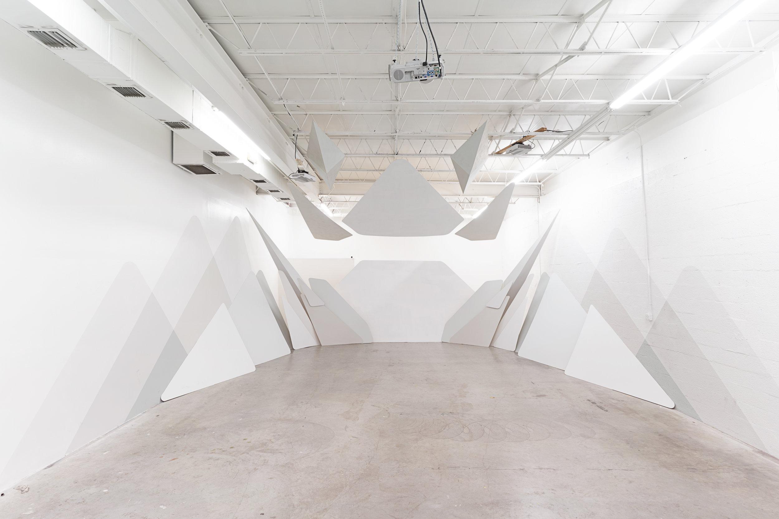 Base Reality, 2019, Solo Installation at Superchief Gallery, Miami, FL