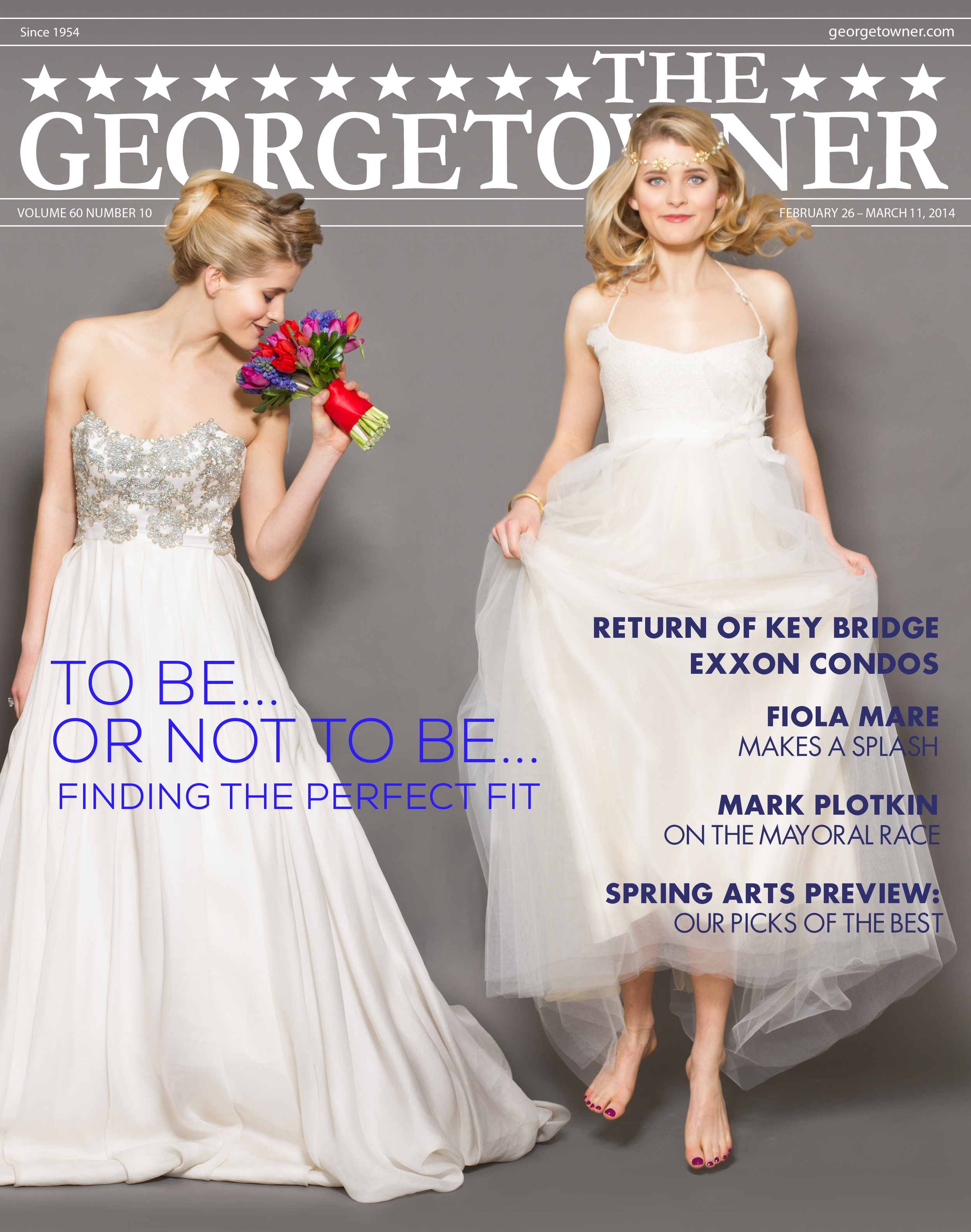 Hot off the press! Check out The Georgetowner's