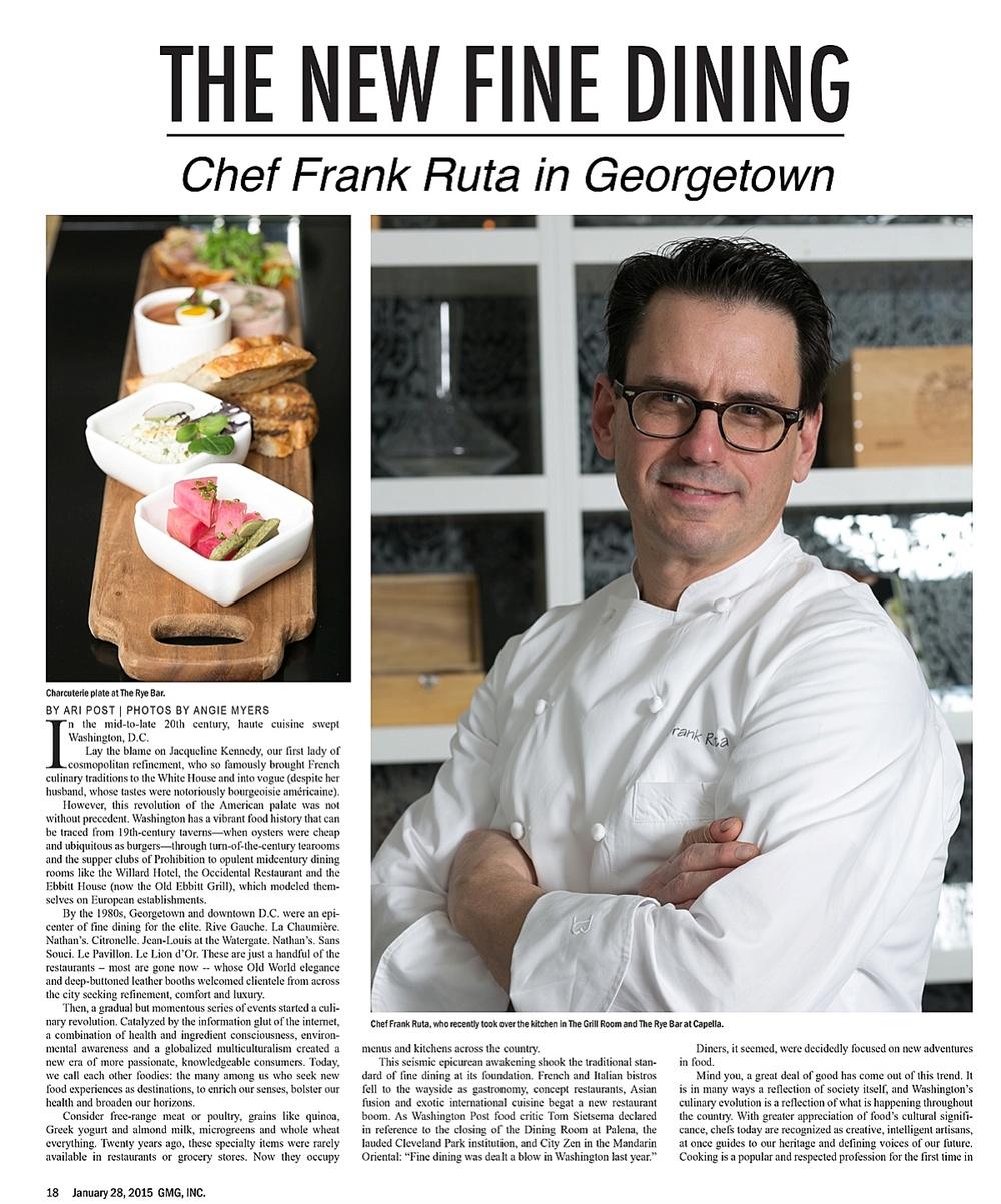 D.C Food Photographer Frank Ruta