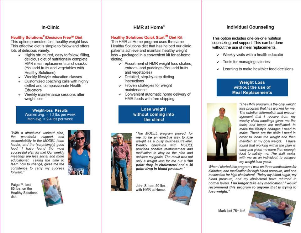 Brochure Inside - Before