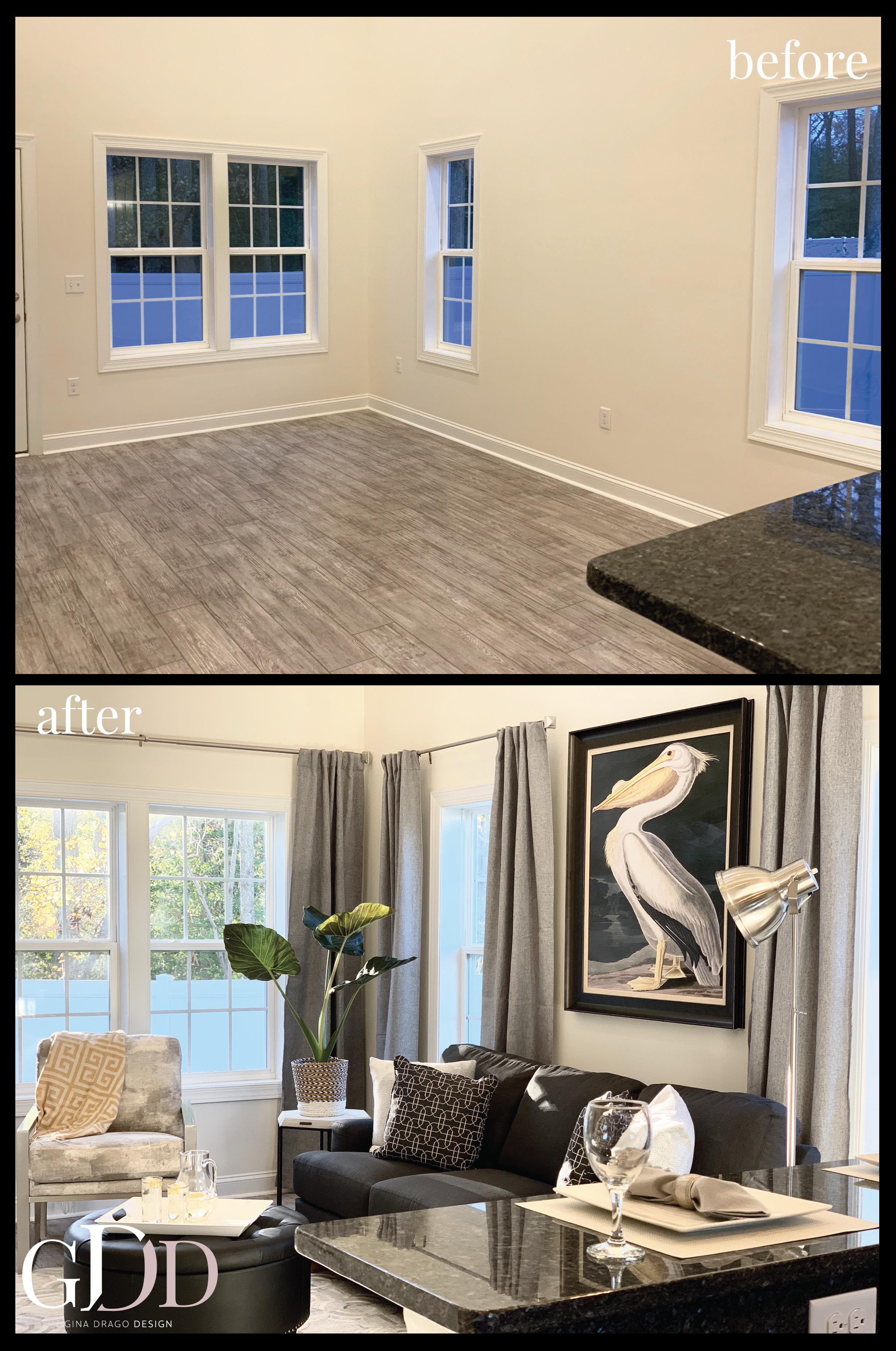Home Staging Design - Capstone Homes | Seashore Villas | W. Fenwick Island, DE