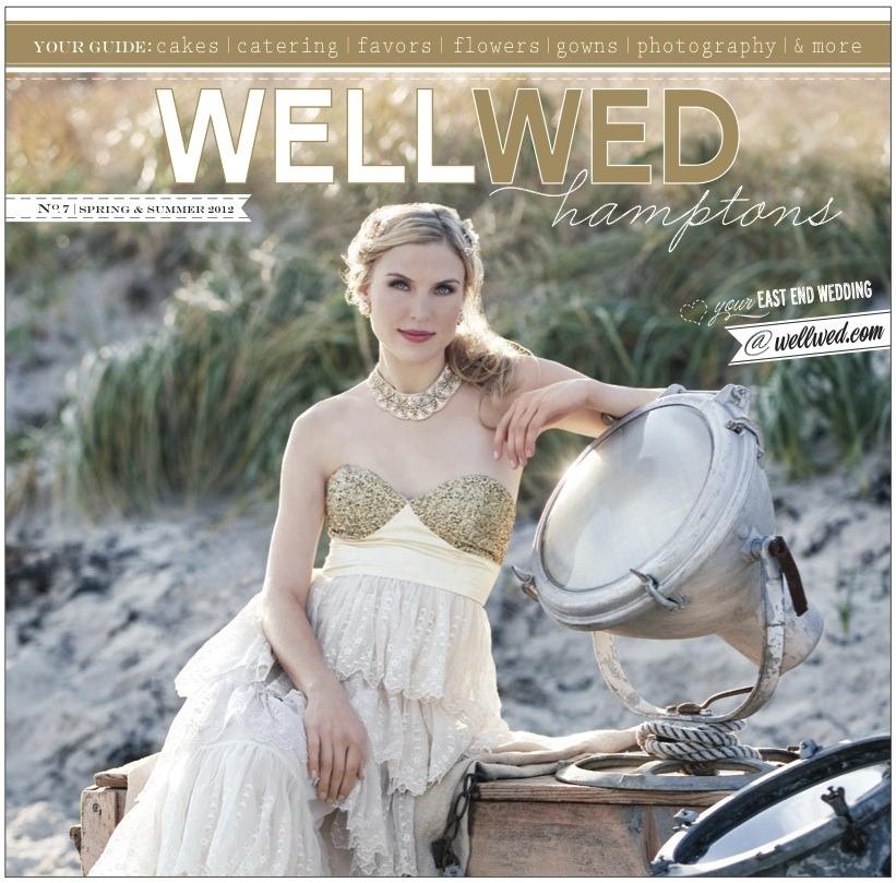WellWed Magazine Hamptons Cover