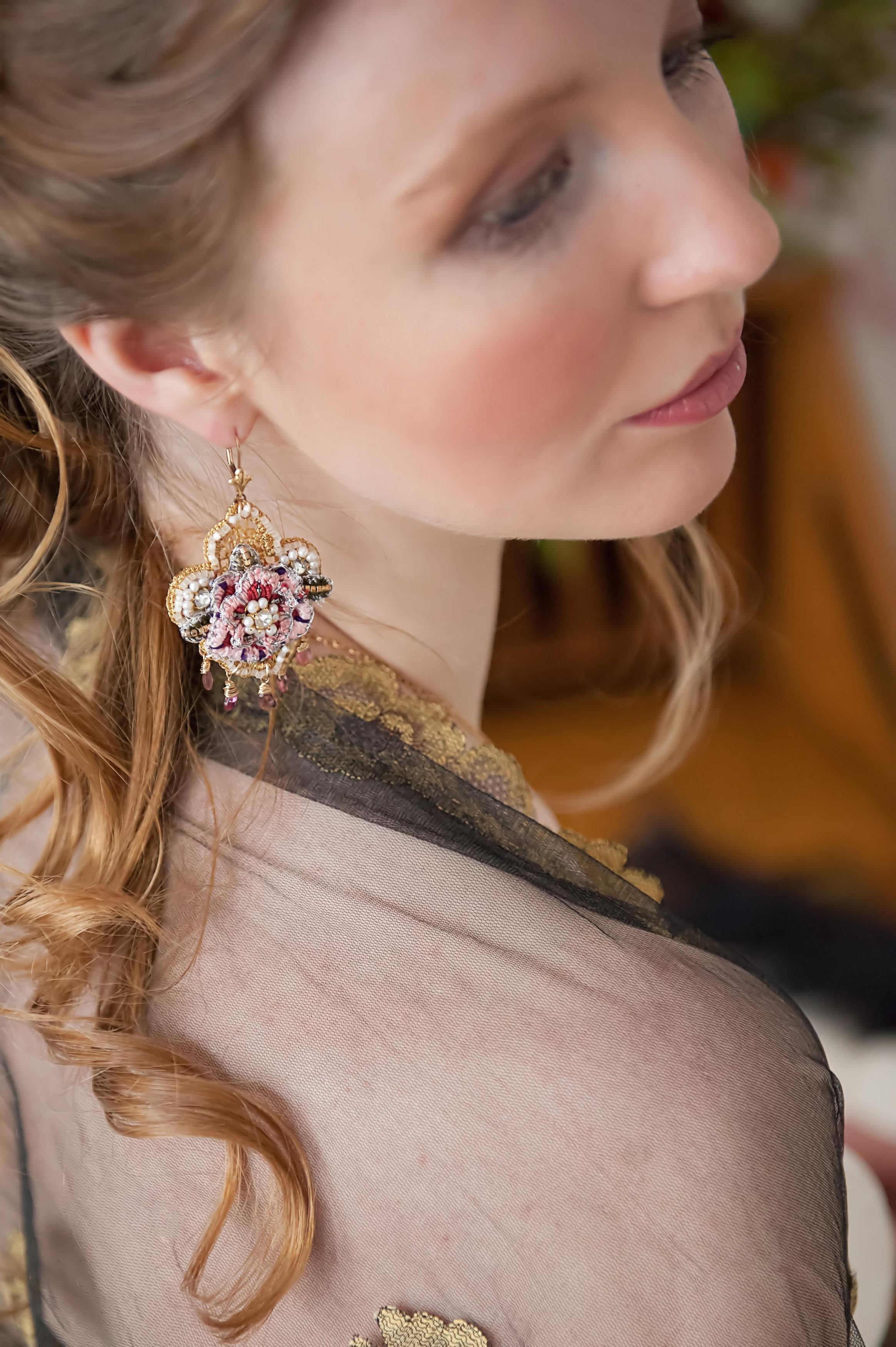 Tudor Rose Earrings