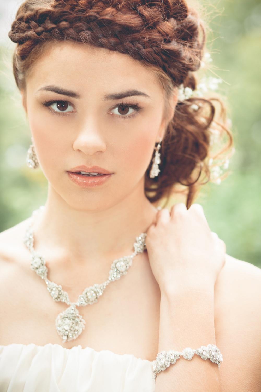Acanthus Earrings, Necklace & Bracelet