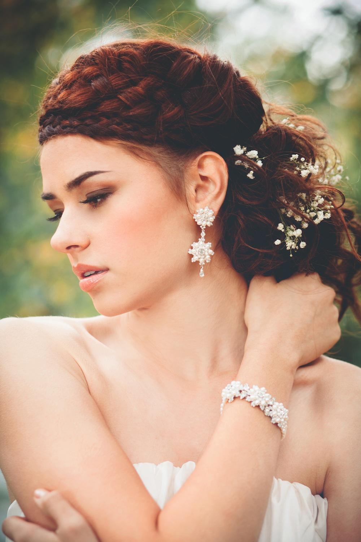 Artemisia Earrings & Bracelet