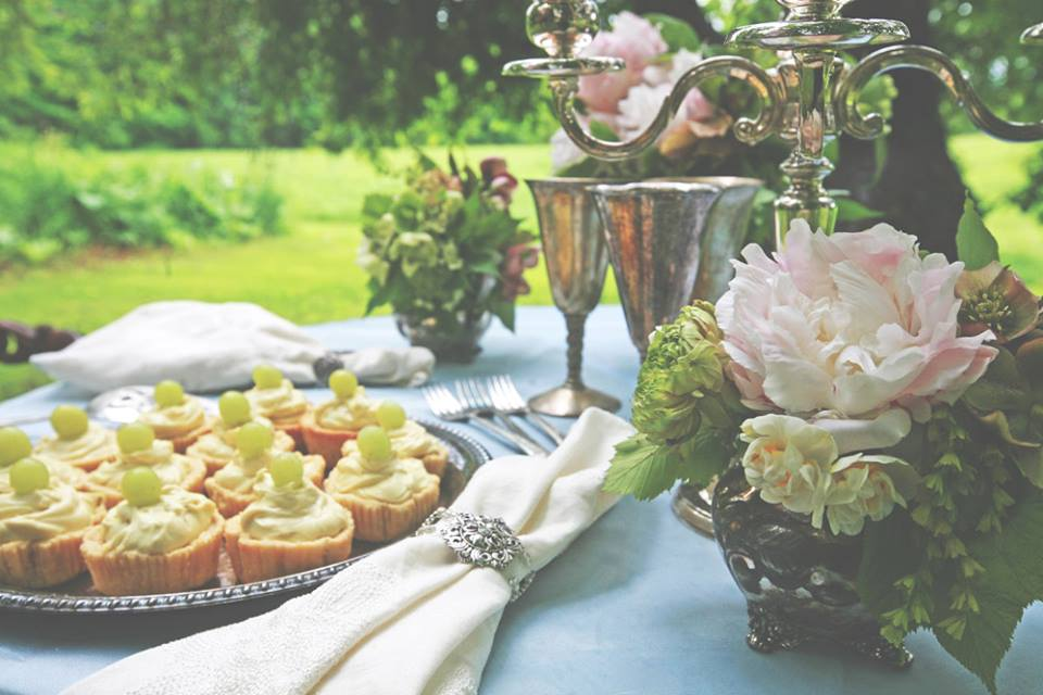 Old World, Woodsy Wedding Table Setting