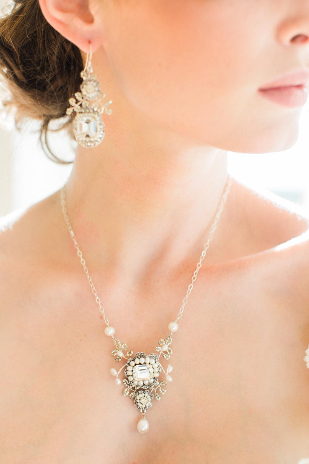 Victorine Earrings & Necklace