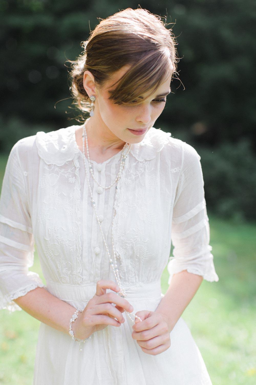 Mirabelle Necklace, Fleurette Earrings & Bracelet