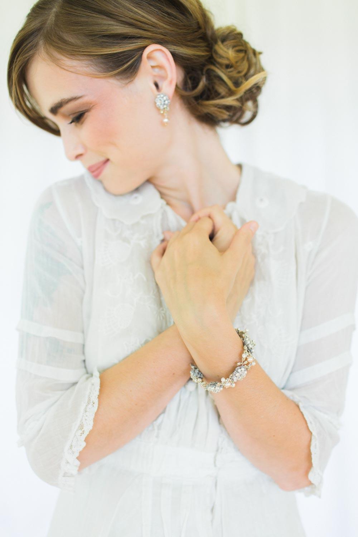 Rosamonde Earrings & Bracelet