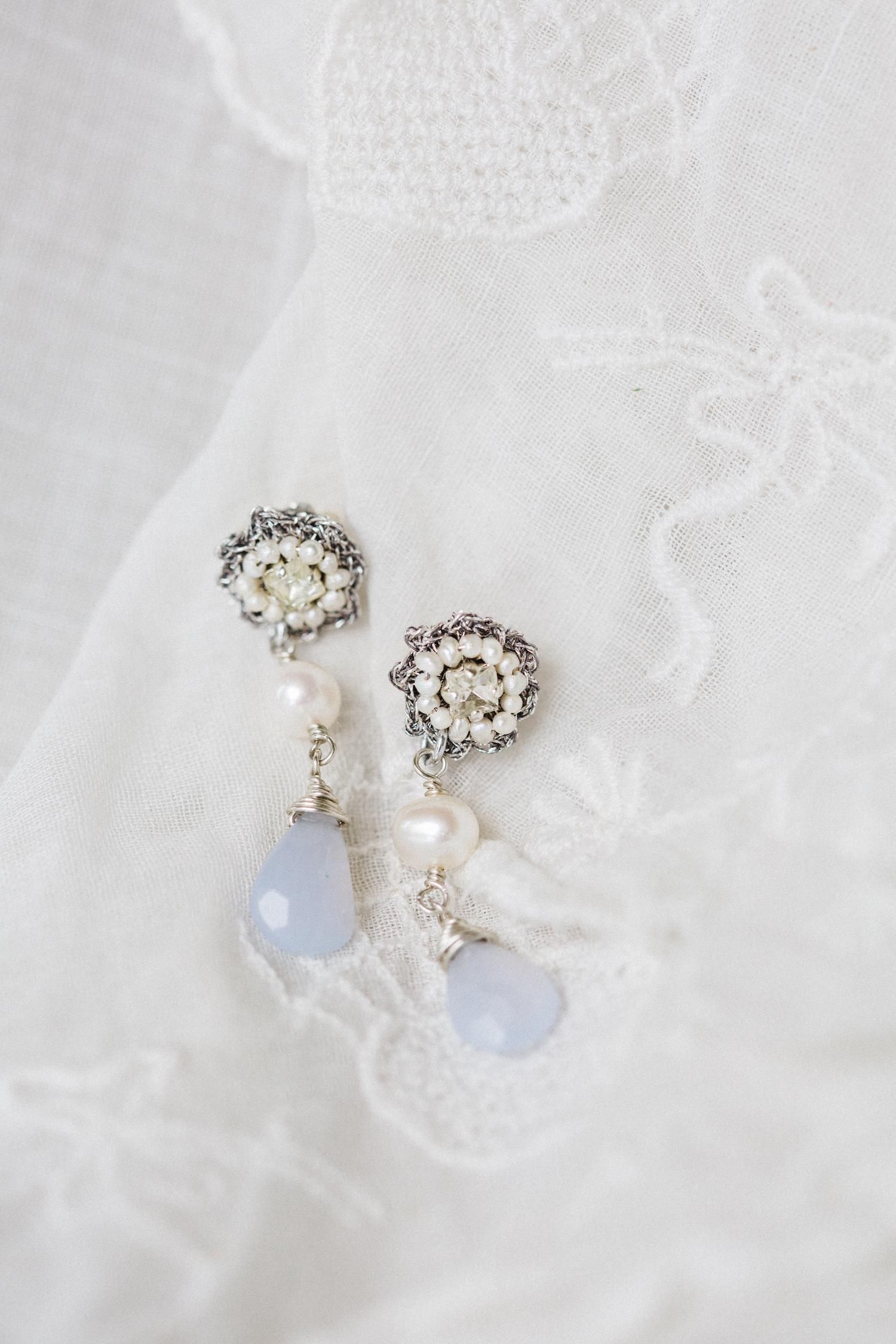 E16FLE Fleurette Earrings