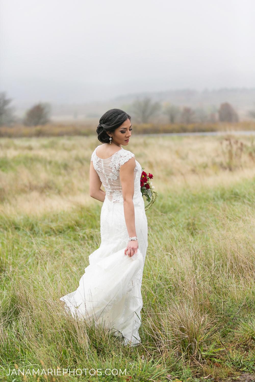 Vermont Bridal Jewelry Designer | Fall Wedding