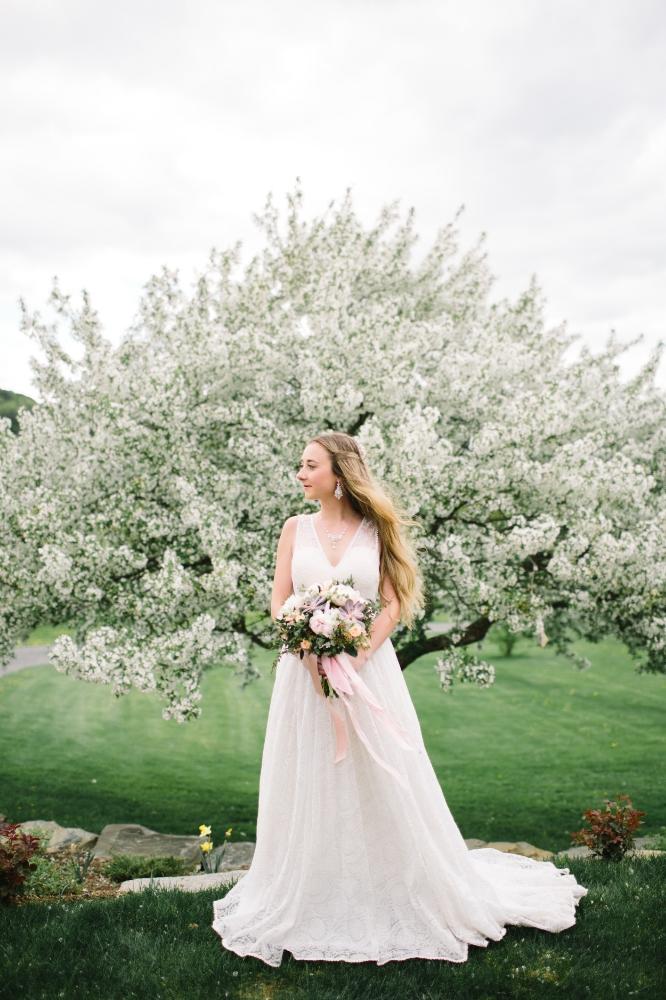 Vermont New England Wedding Jewelry Designer   Apple Blossom