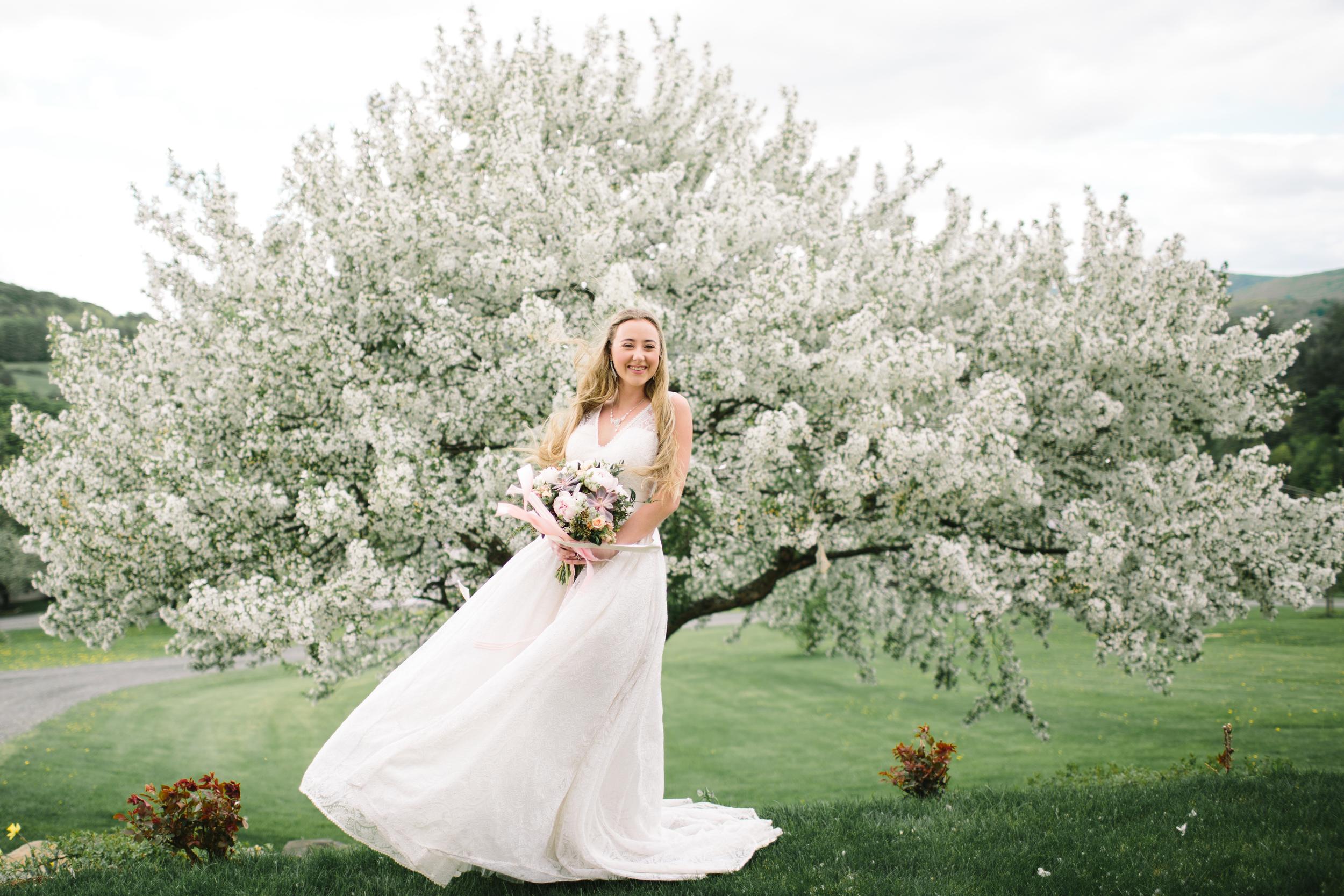Vermont Bridal Accessory Designer   Blush Pink and Peach Wedding Inspiration