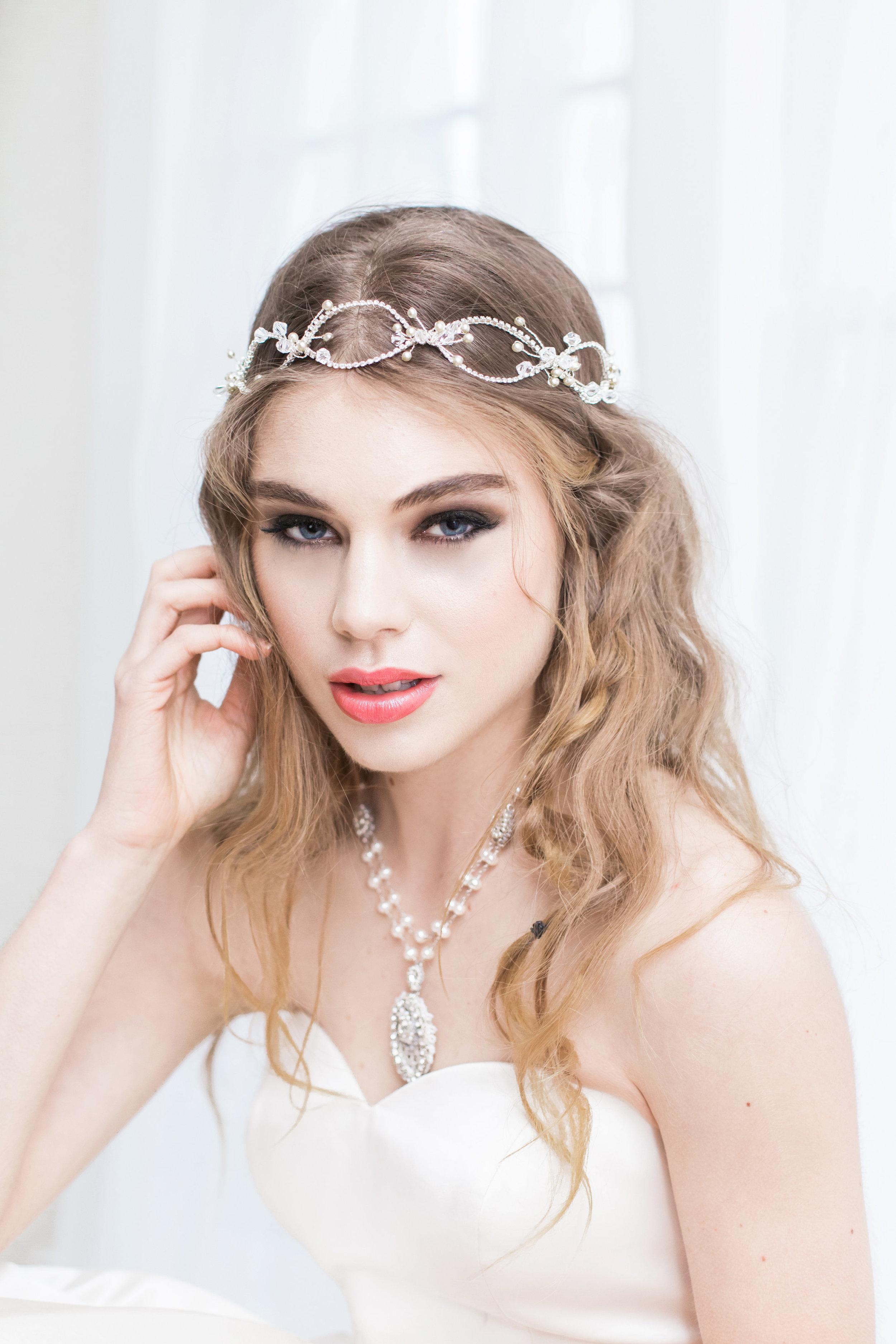 """Lilliane"" Necklace with Kata Banko Gown"